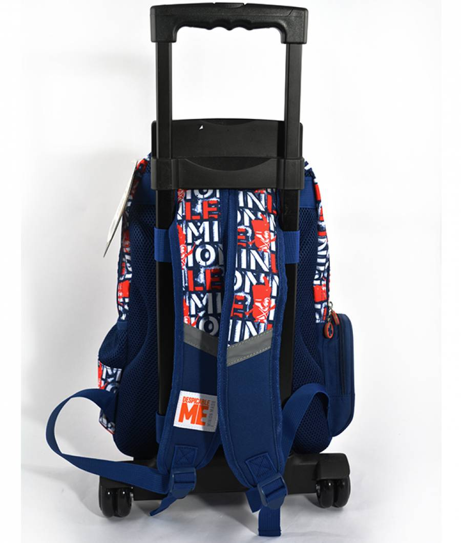 Ghiozdan Troller CL 1/4 Minions Gri cu Albastru MIRS1668-T-4.jpg