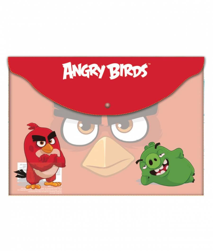 Mape plastic  cu buton A4, AngryBirds