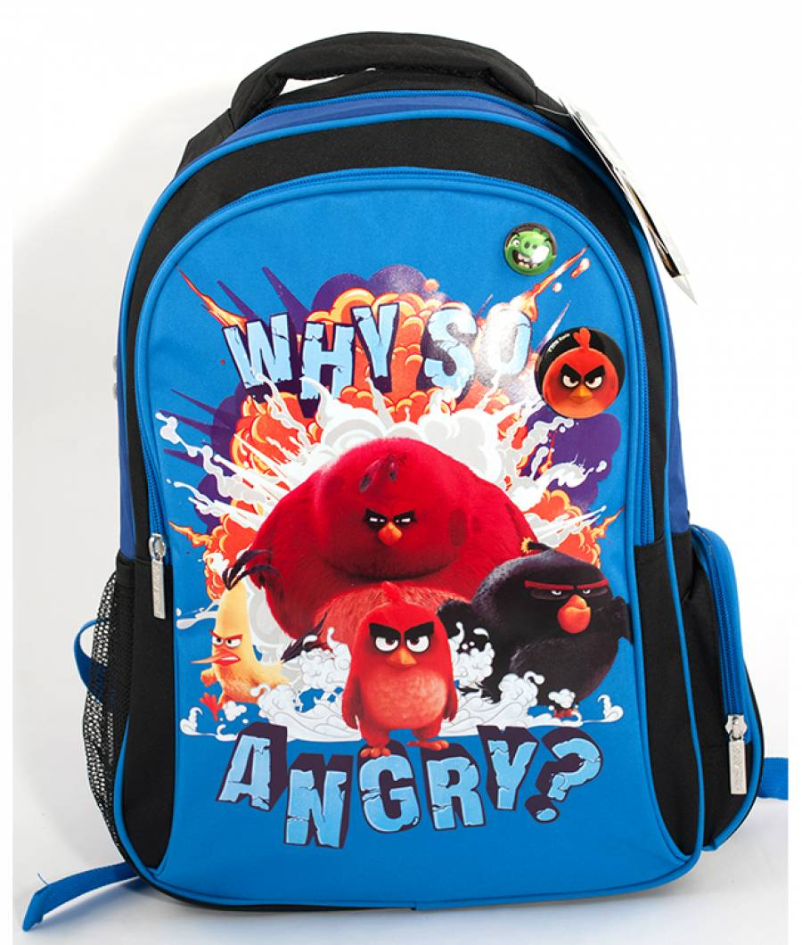 Ghiozdan CL 1/4 Angry Birds Albastru