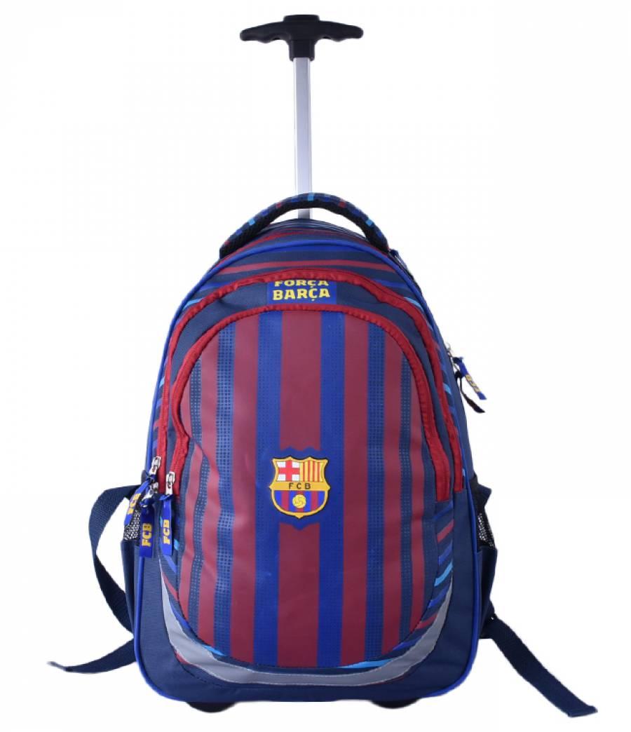 Ghiozdan Troller, clasa 1/4, Barcelona Dungi Color Barcelona