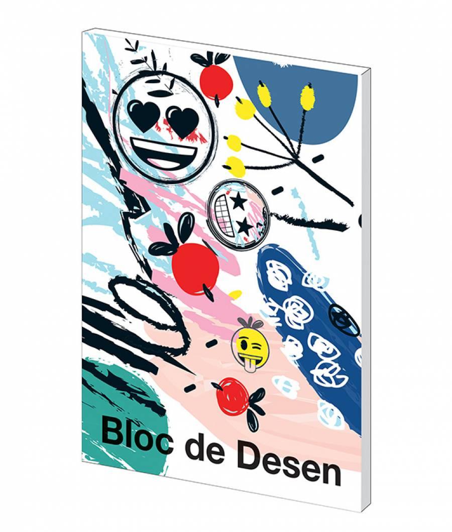 Bloc desen A4 160g 16file Emoji Clasic