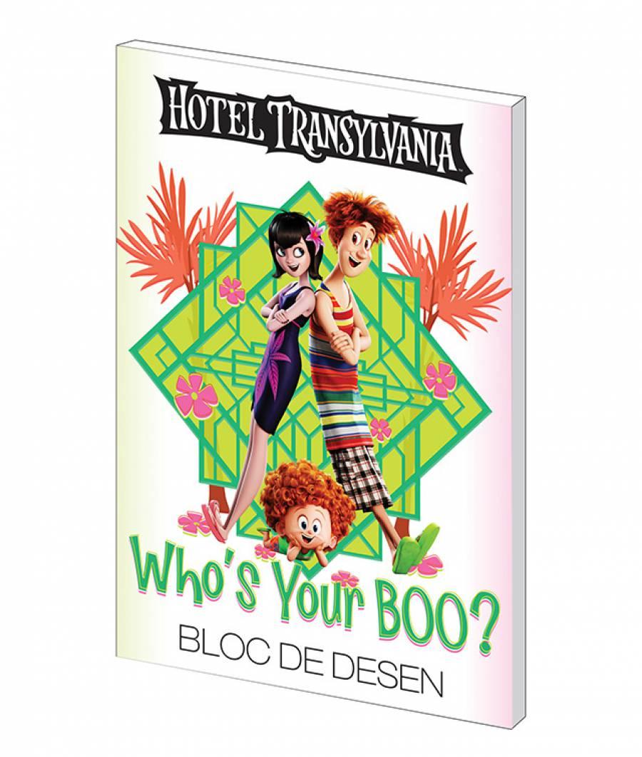 Bloc desen A4 160g 16file Hotel Transilvania