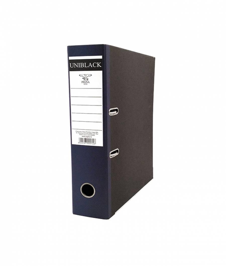 Biblioraft UNIBLACK 7,5 cm albastru