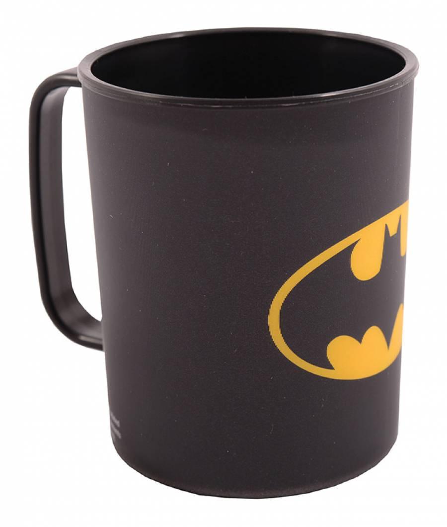 Cana 325ml Batman din material plastic certifcat