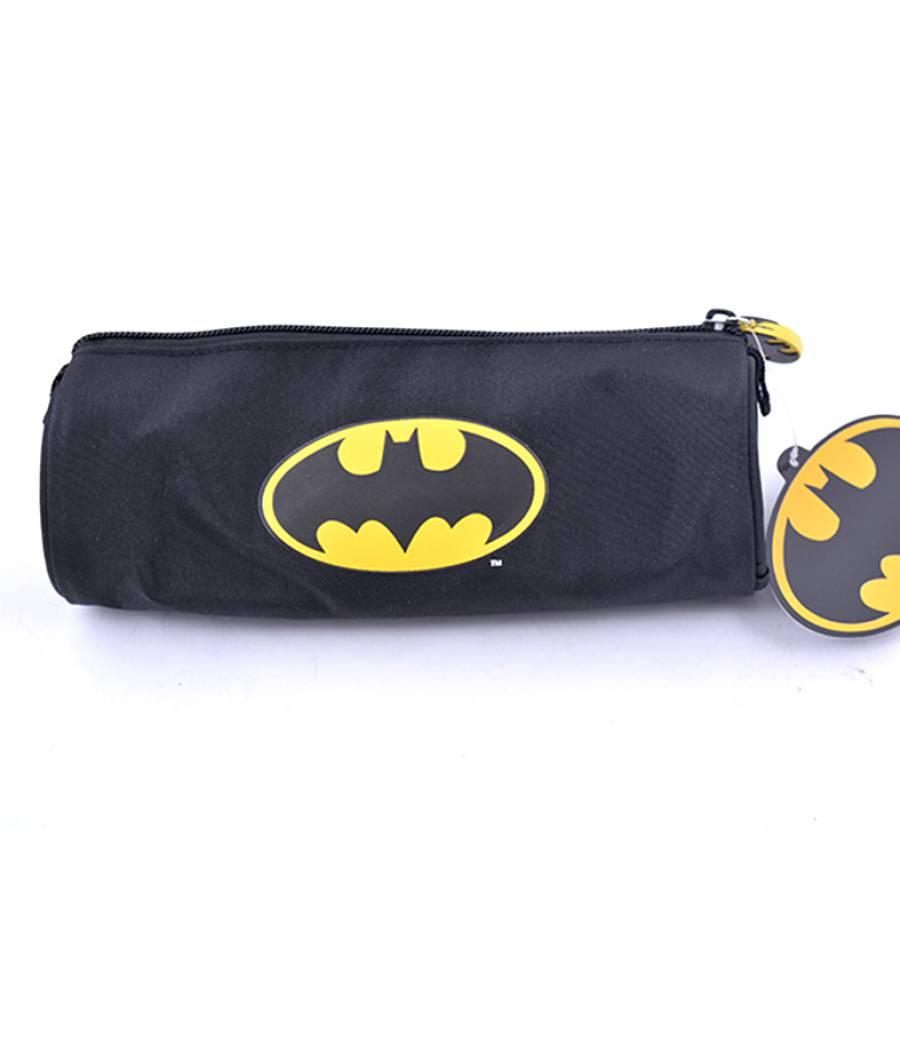 Penar Etui Tubular Batman Negru Simplu Batman