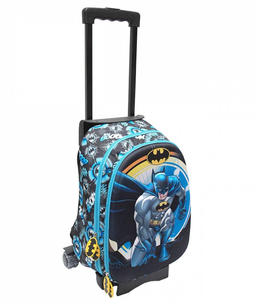 Ghiozdan Troller CL 1/4 3D 1 ferm. Batman Troller