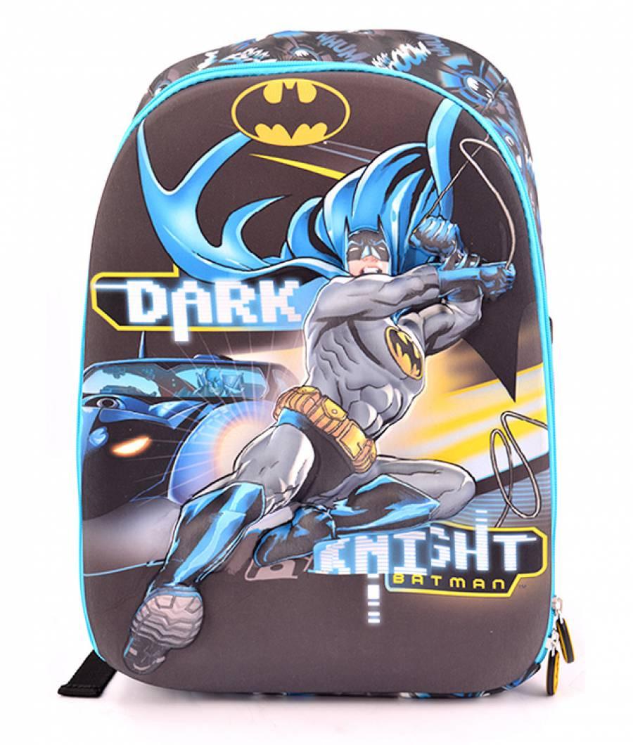 Ghiozdan Troller, clasa 1/4, 3D, 1 fermoar, Batman