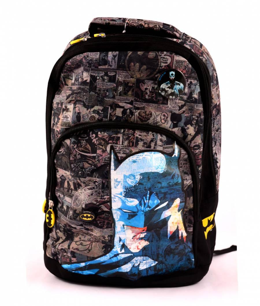 Ghiozdan negru vintage Batman
