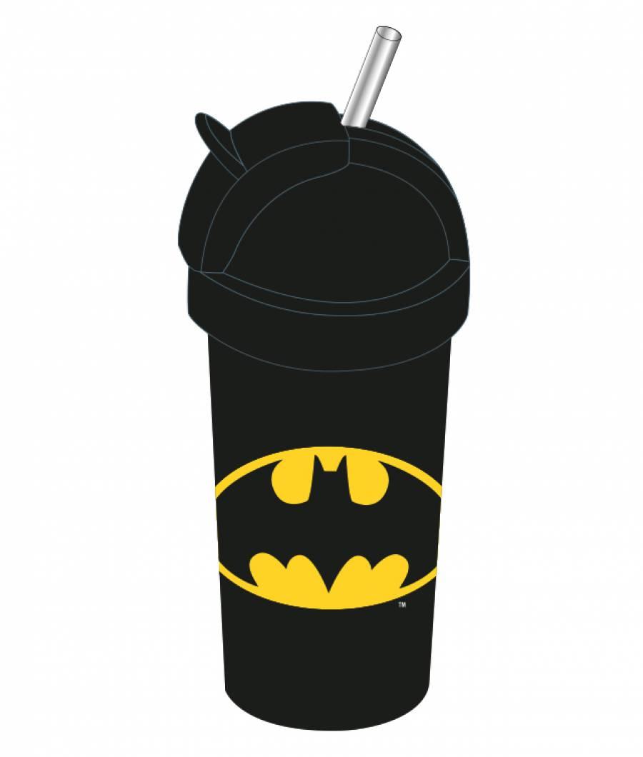 Sticla lichide copiii 380ml Batman  din material plastic certifcat