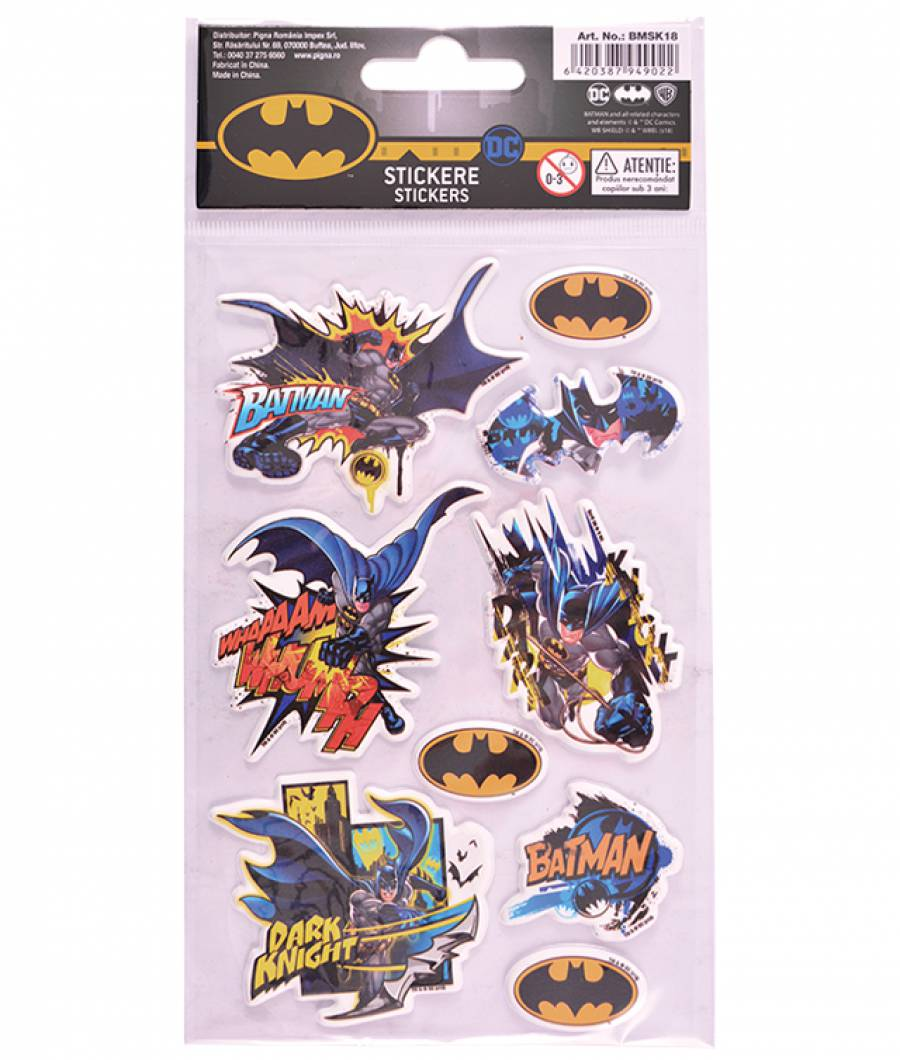 Stickere pop-up Batman