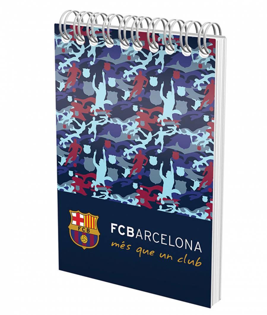 Blocnotes cu spira A6 70fileile, matematica, 80g/mp Barcelona