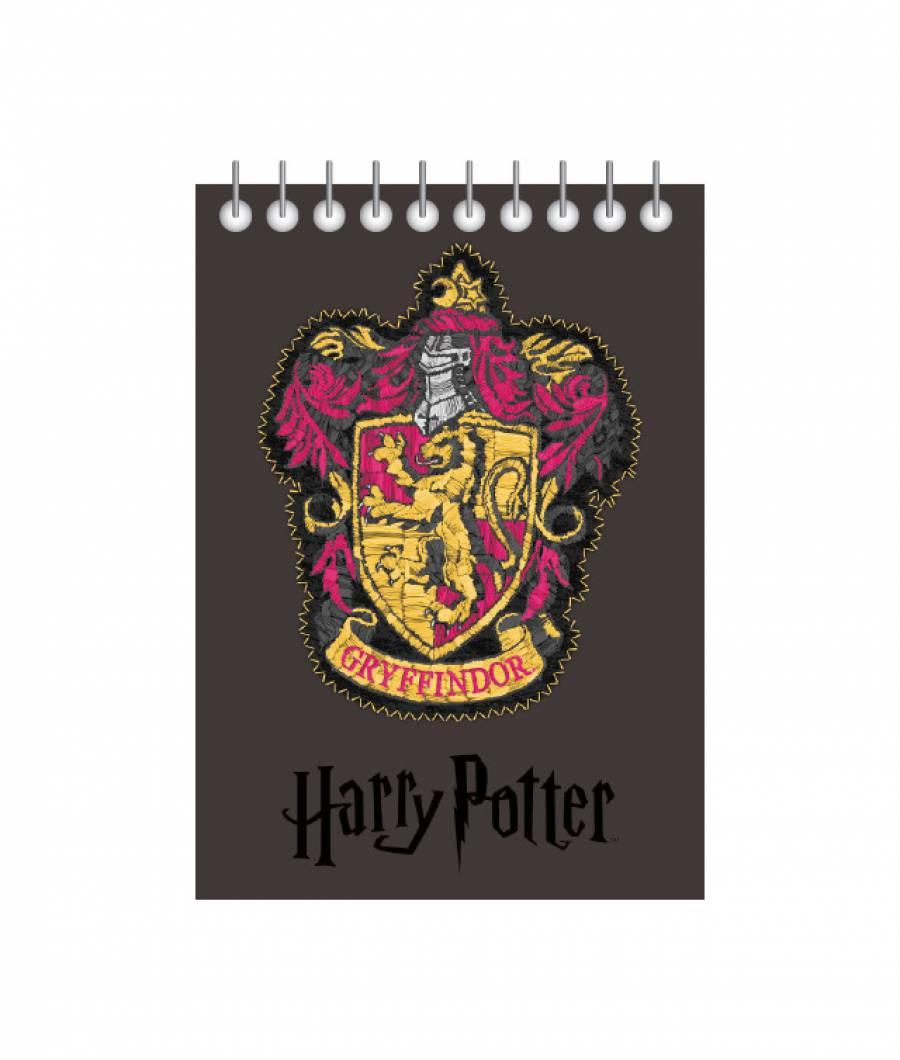 Blocnotes cu spira A6 70file, matematica, 80g/mp Harry Potter