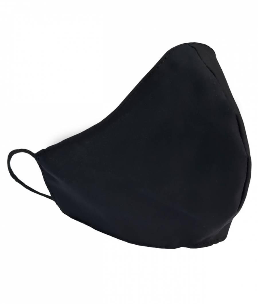 Masca Protectie din material textil ADULTI Neagra