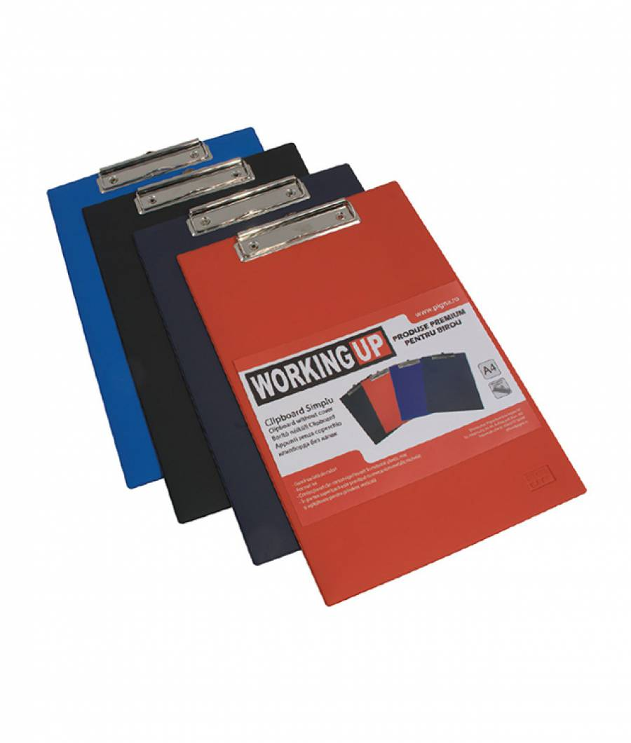 Clipboard simplu A4 W-UP, bleumarin