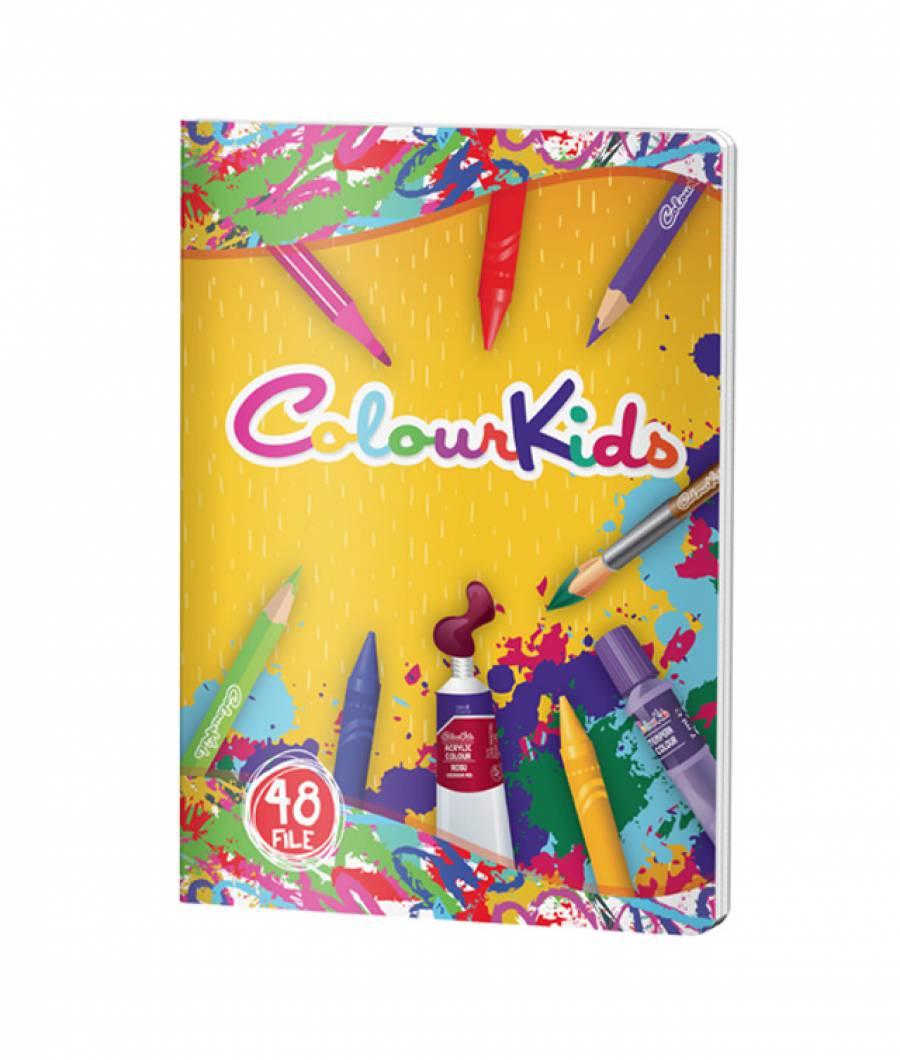 Caiet A5 48file, matematica, ColourKids