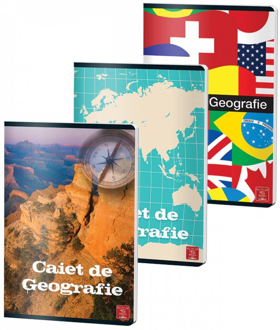 Caiet Geografie 24file A4 70gr
