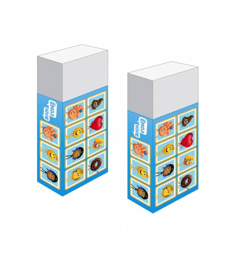 Radiere Emoji 100buc x cutie