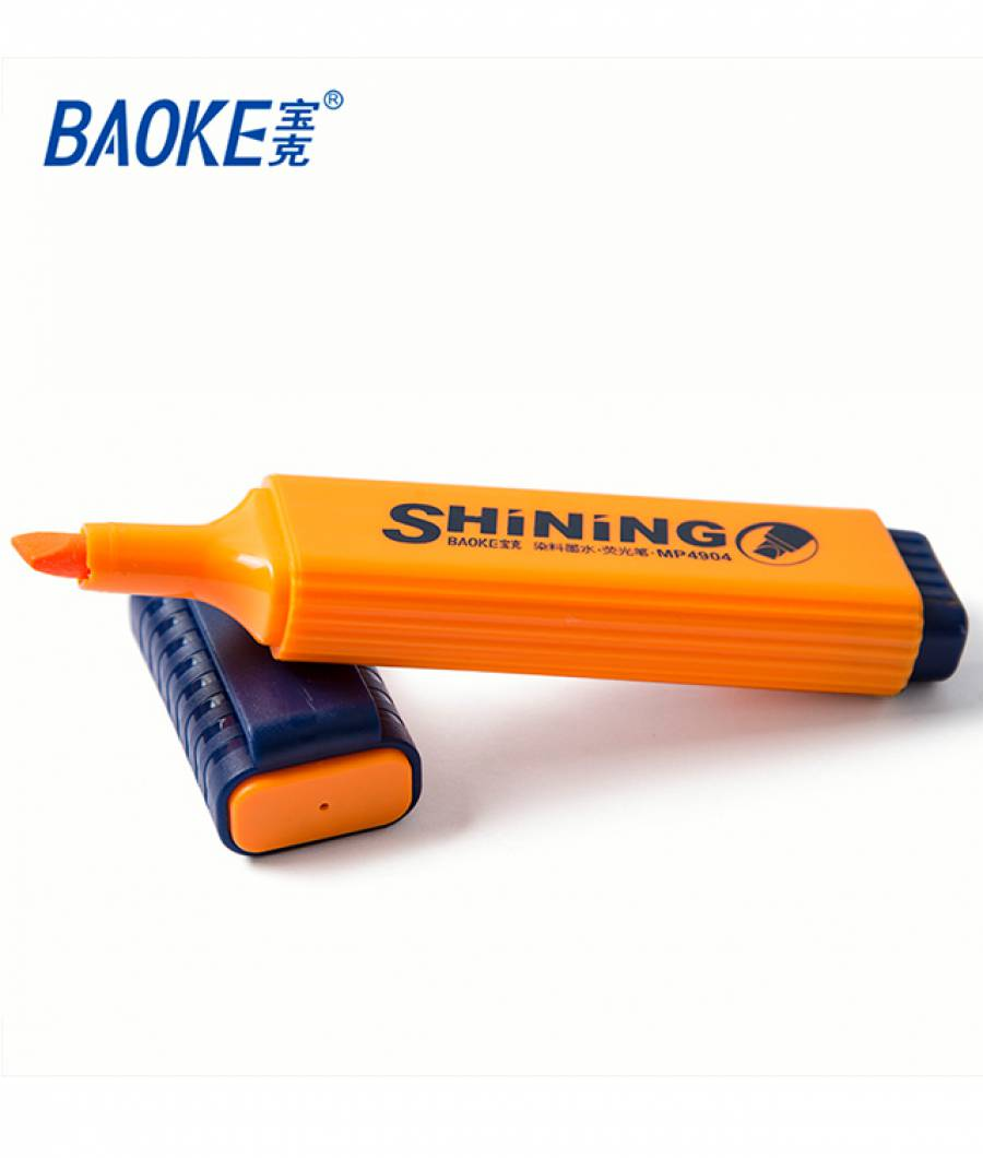 Textmarker CLASIC 10buc/set portocaliu