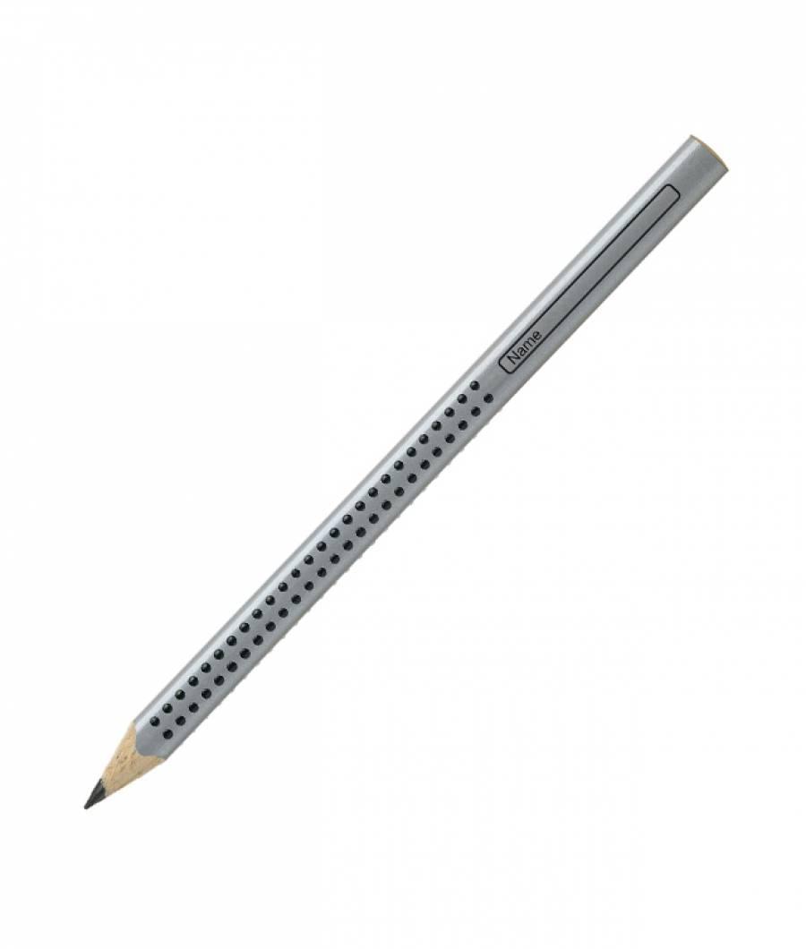 Creion grafit HB fara guma Jumbo Grip Faber-Castell