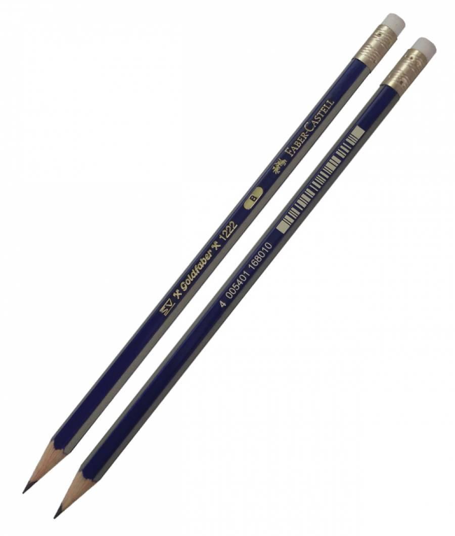 Creion Grafit Cu Guma Goldfaber 1221 Faber-Castell