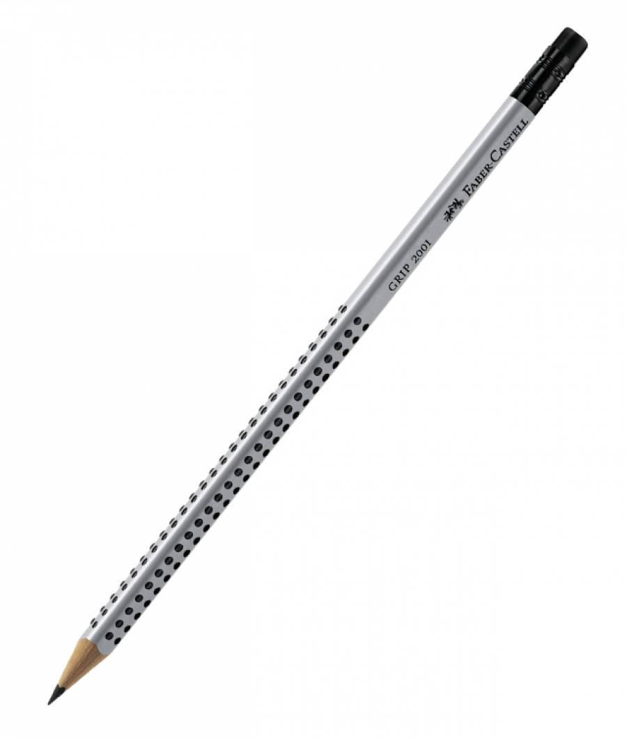 Creion Grafit Cu Guma Grip 2001 Faber-Castell