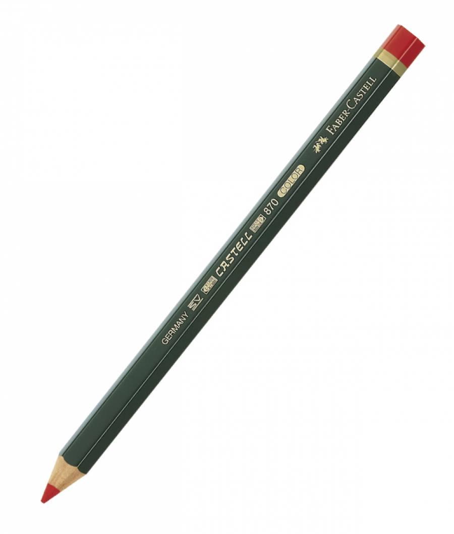 Creion Rosu Castell Color 870 Faber-Castell