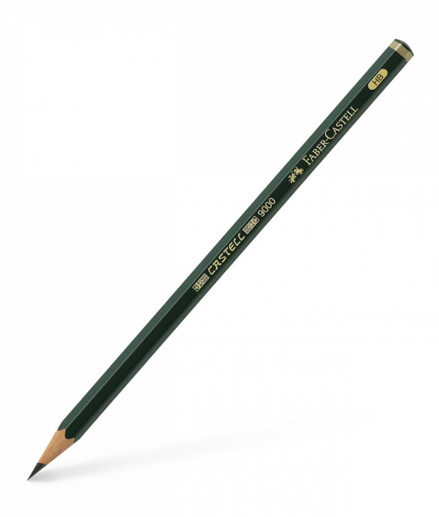 Creion Grafit Castell 9000 Diverse Tarii Faber-Castell