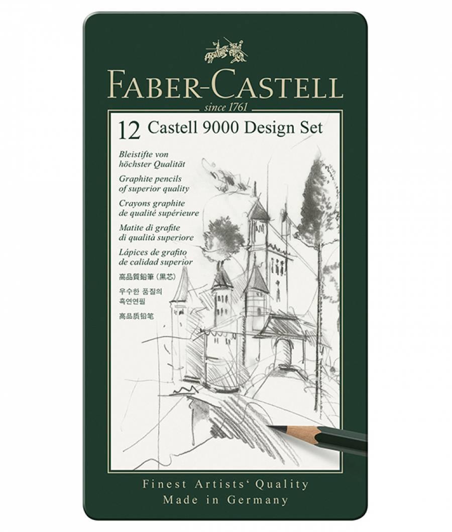 Set Design Creion Grafit Castell 9000 Faber-Castell