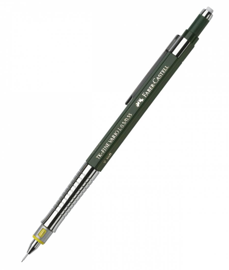 Creion mecanic 0.35mm TK-Fine Vario L.3 Faber-Castell