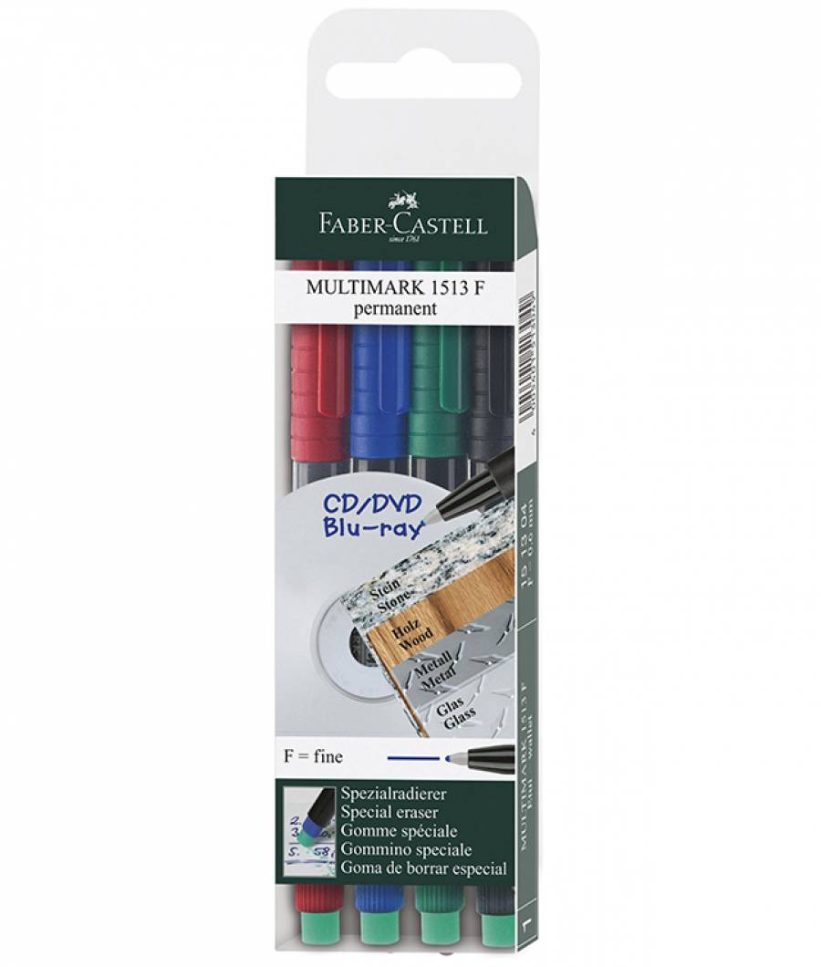 Marker Permanent F Multimark Faber-Castell