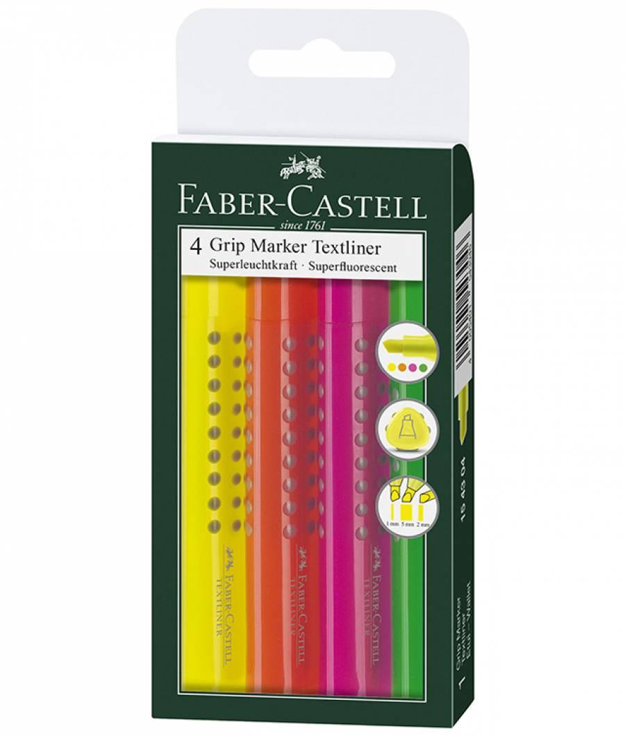 Textmarker Grip 1543 Faber-Castell