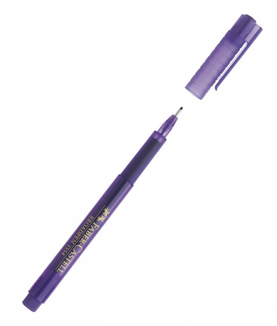 Liner 0.8mm Violet Broadpen 1544 Faber-Castell