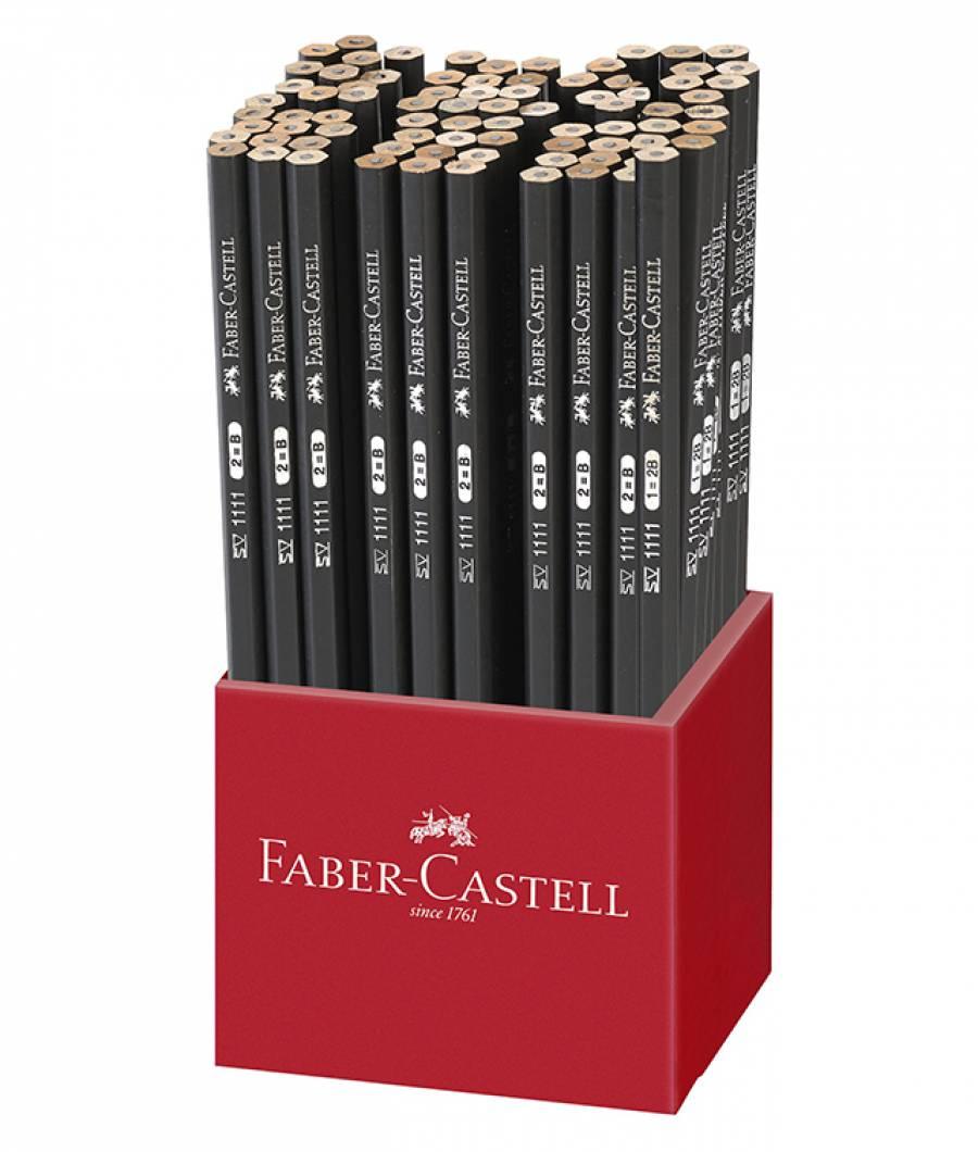 Display Carton 72 Creioane Grafit 1111 Faber-Castell