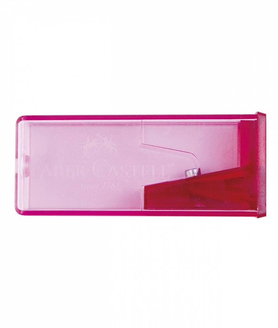Ascutitoare Plastic Cu Container Faber-Castell
