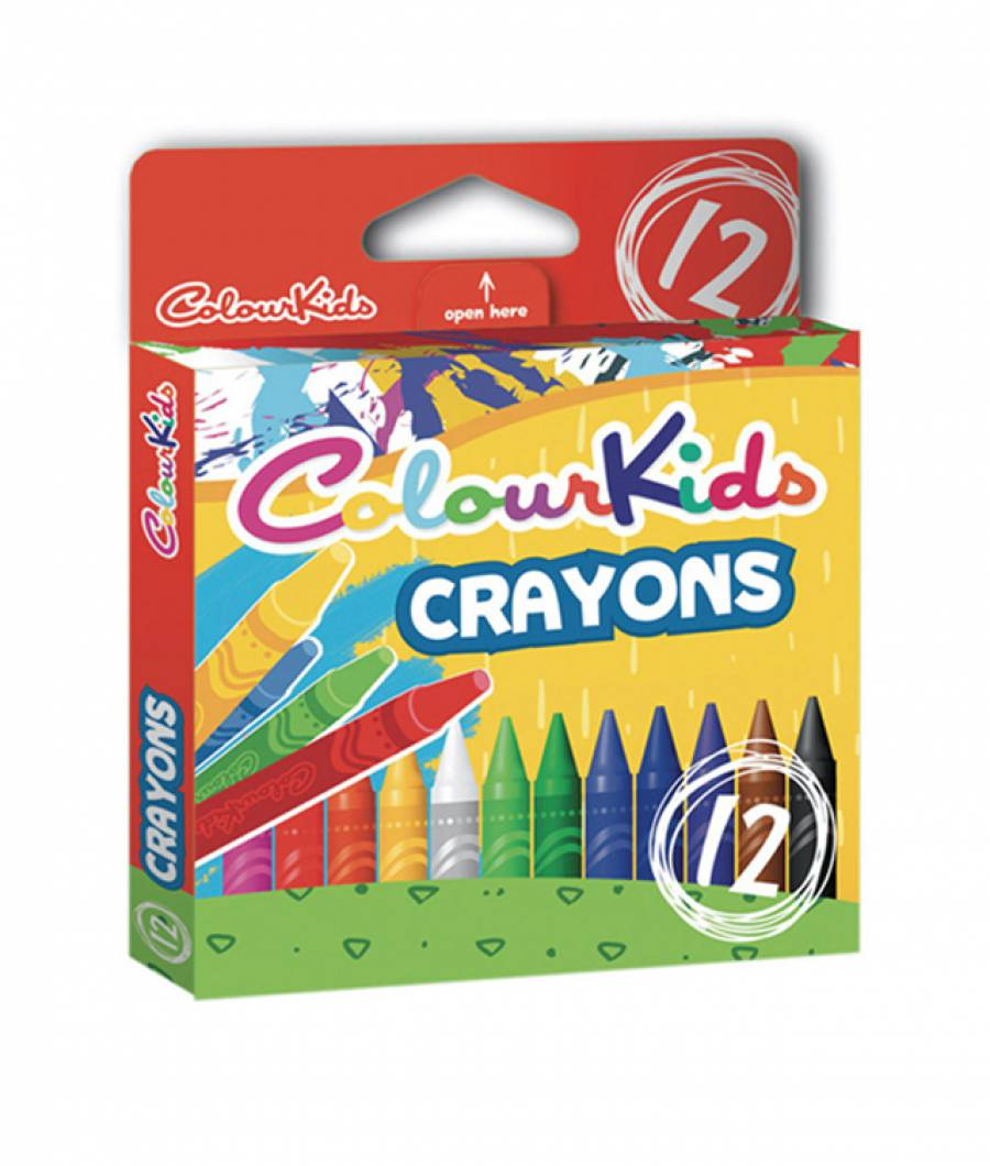 Creioane Cerate 12 culori Colour KIDS