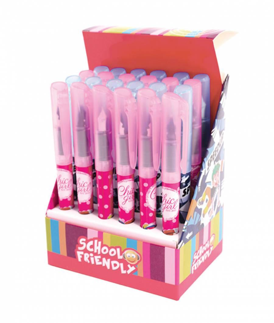 Cutie 24 stilouri  Stilou Basic NO1 (12 pt fete,12 pt baieti)
