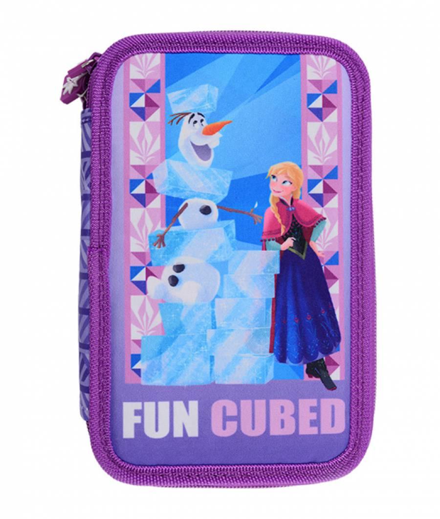 Penar 3 fermoare violet Frozen