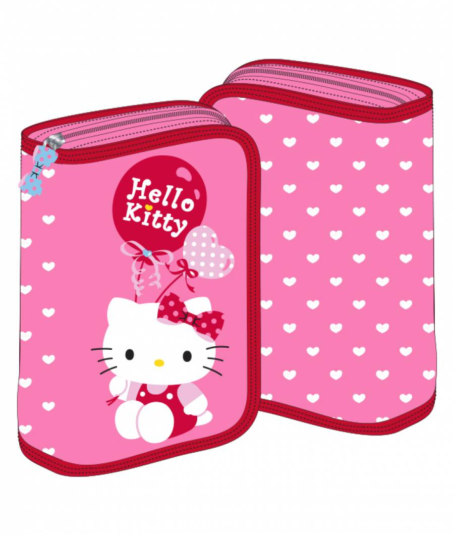 Penar 2 extensii roz Hello Kitty