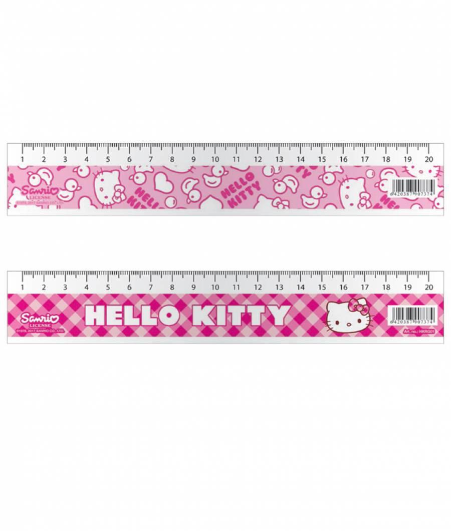 Rigla 20cm HelloKitty .