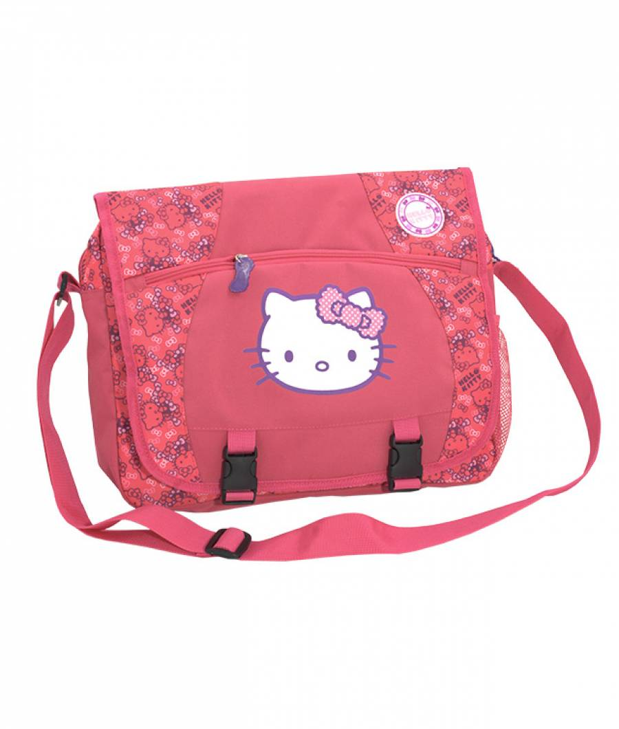 Geanta de umar dreptunghiulara Hello Kitty Roz