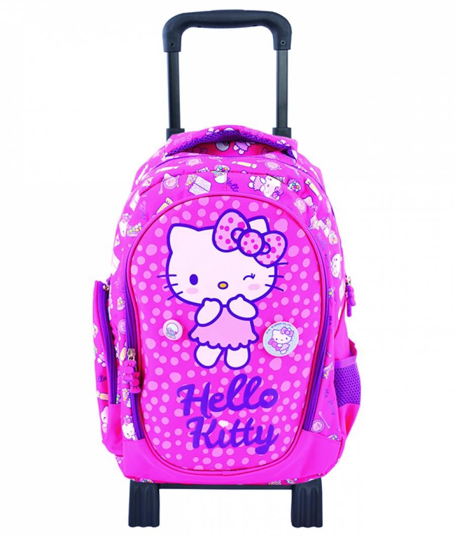 Ghiozdan Troller Hello Kitty