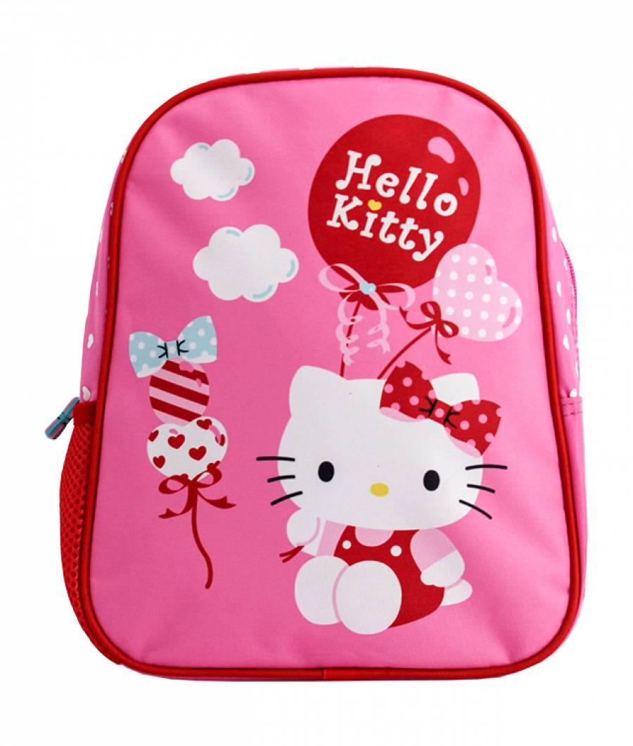 Mini-ghiozdan prescolari roz Hello Kitty