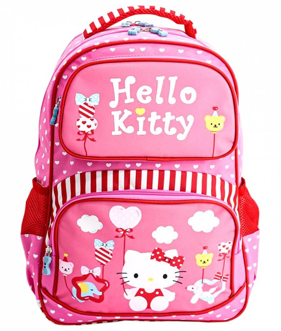 Ghiozdan clasa 1/4, roz Hello Kitty