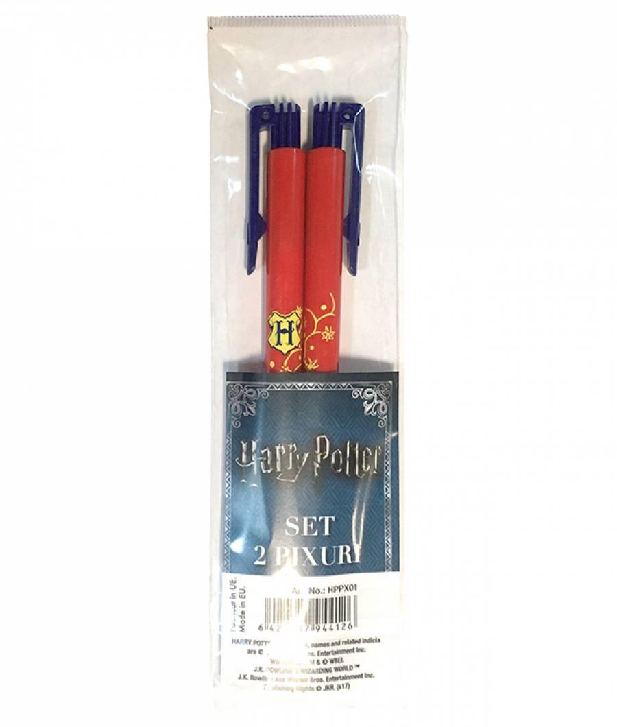 Blister 2 Pix cu buton  Harry Potter