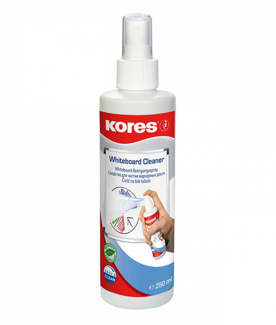 Spray Curatare Whiteboard 250ML Kores