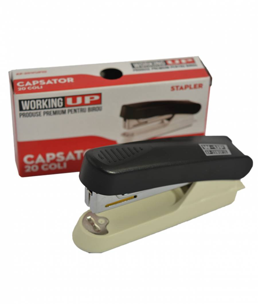 Capsator plastic 20 file (capse no.10) W-UP NEGRU