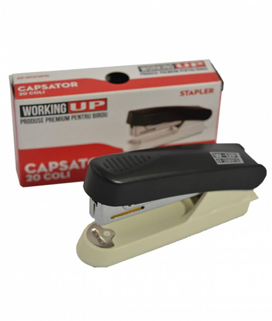 Capsator plastic 20 file (capse no.10) W-UP NEGRU