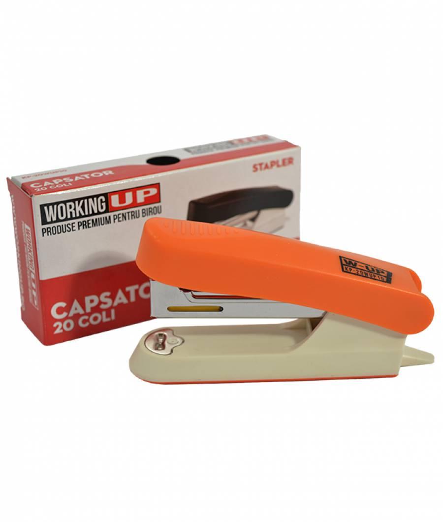 Capsator plastic 20 file (capse no.10) W-UP ORANGE