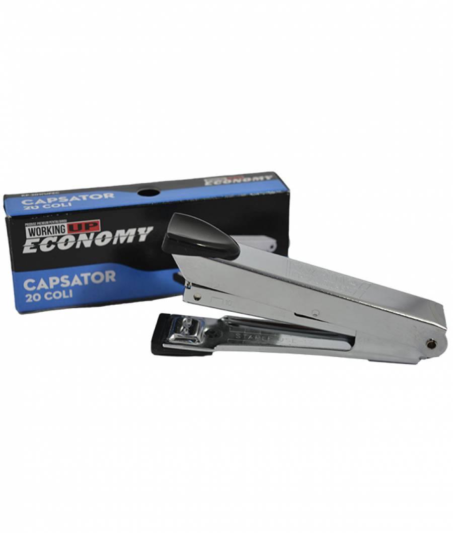 Capsator inox 20 file (capse no.10) W-UP Economic NEGRU