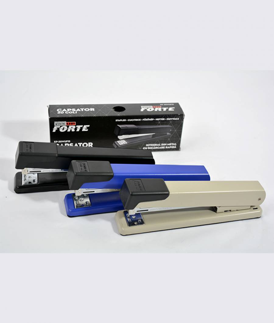 Capsator metalic 30 file (105mm) W-UP FORTE NEGRU